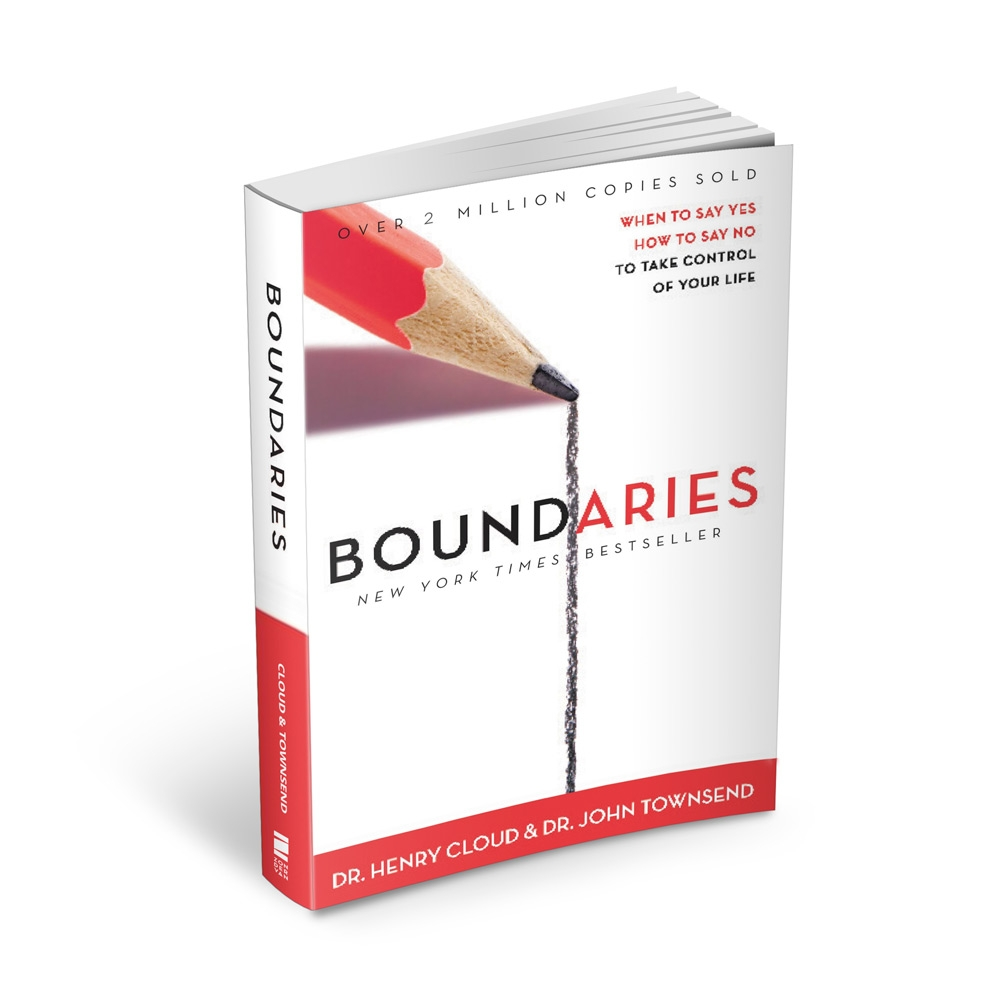 picture of a book titled boundaries
