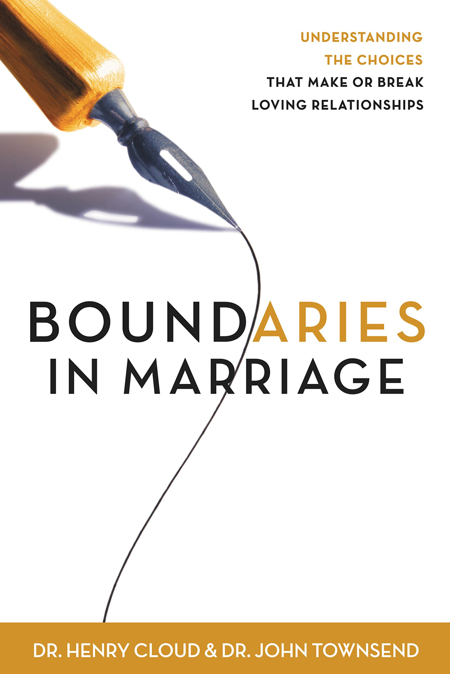 picture of a book titled boundaries with marriage