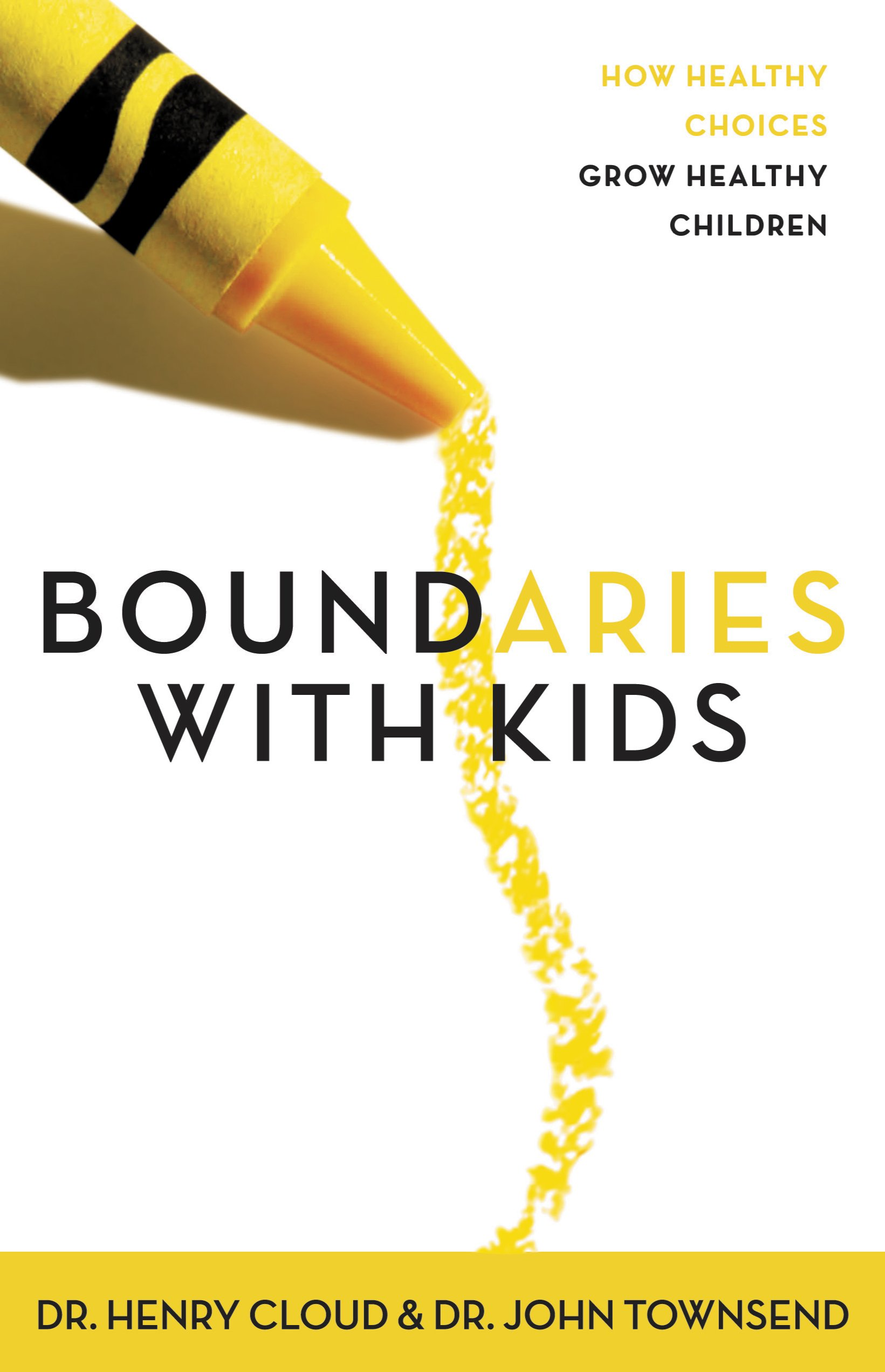 picture of book titled boundaries with kids