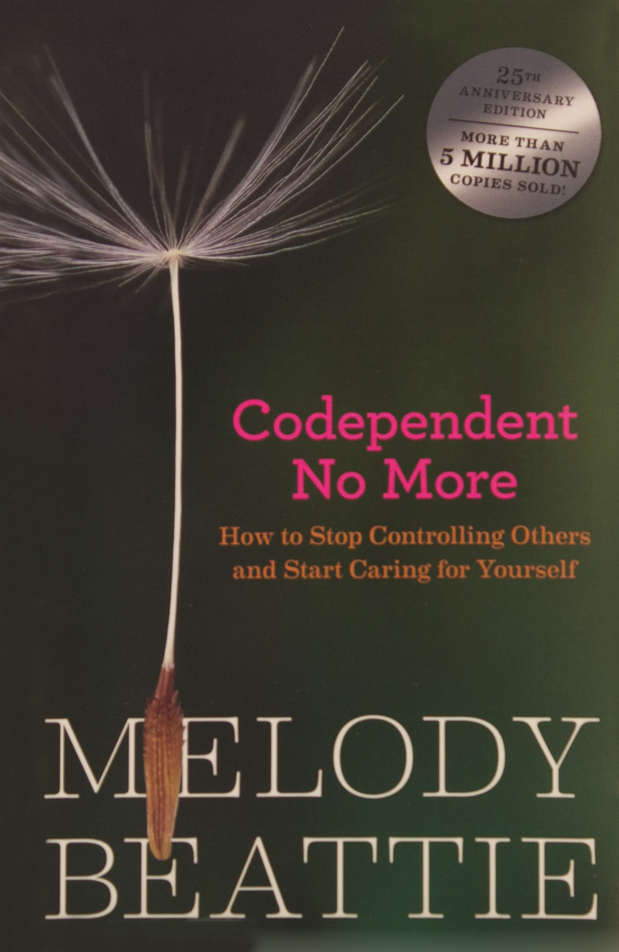 picture of a book titled codependent no more