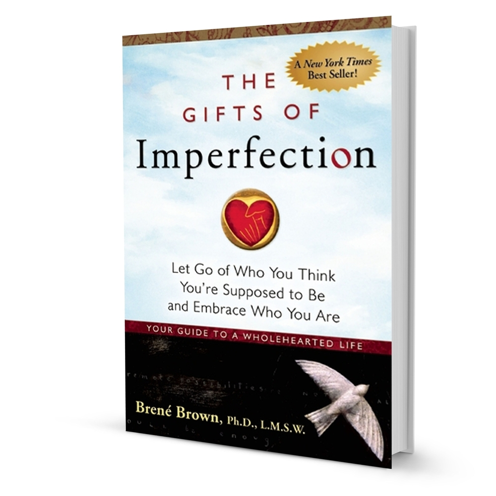 picture of a book title the gifts of imperfection